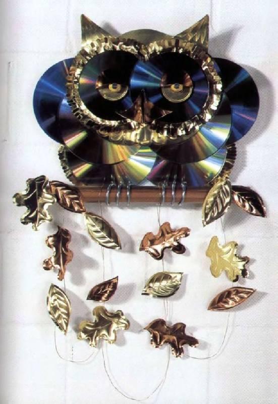 Иллюстрация 9 к книге Сувениры из CD. Идеи подарков и предметов для
