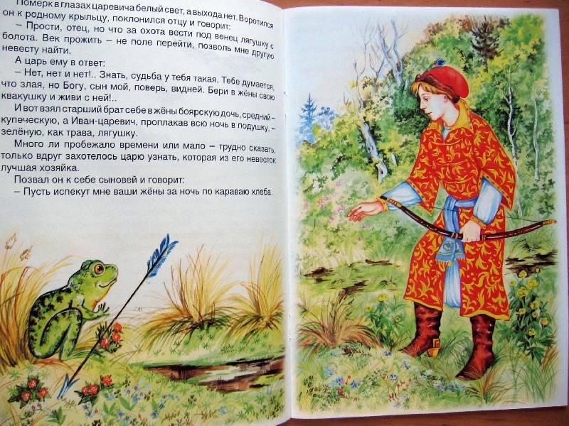Иллюстрация 6 из 38 для царевна лягушка