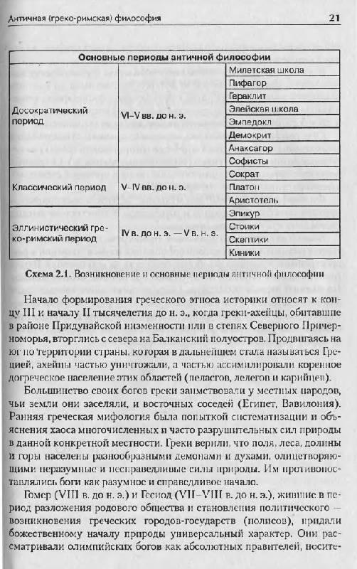 """Иллюстрация 8 к книге  """"История философии в схемах и комментариях """", фотография, изображение, картинка."""