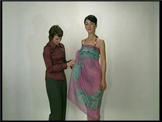Иллюстрация 1 из 5 для Как красиво завязать платки, шарфы, парео (DVD) - Григорий Хвалынский | Лабиринт - видео. Источник: Ya_ha