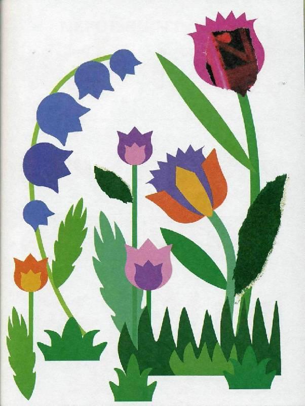 Аппликация фото весна