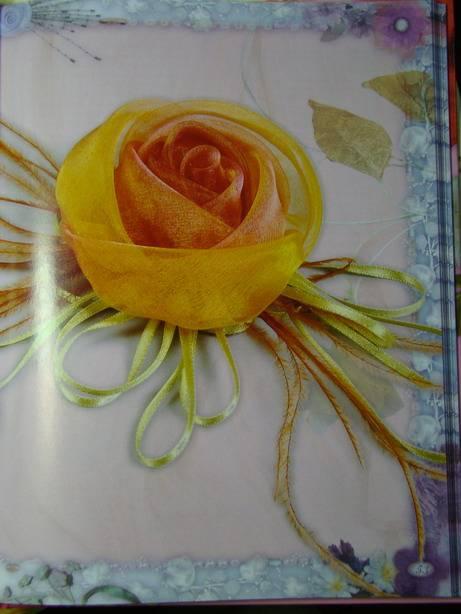 Изготовление розы из ткани в домашних