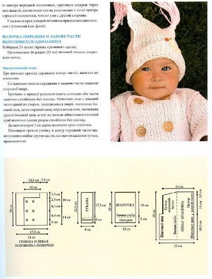 Вязание спицами для детей модные модели с описанием