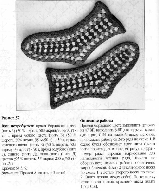 Чем вязать носки крючком или спицами
