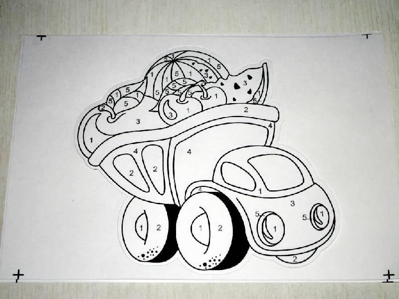 Иллюстрация 1 из 2 для Раскраска Грузовик (Рдм005) | Лабиринт - игрушки. Источник: чайник