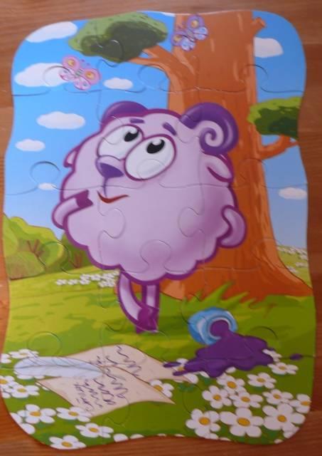 Иллюстрация 1 из 9 для Maxi Puzzle. Смешарики. Бараш | Лабиринт - игрушки. Источник: personok