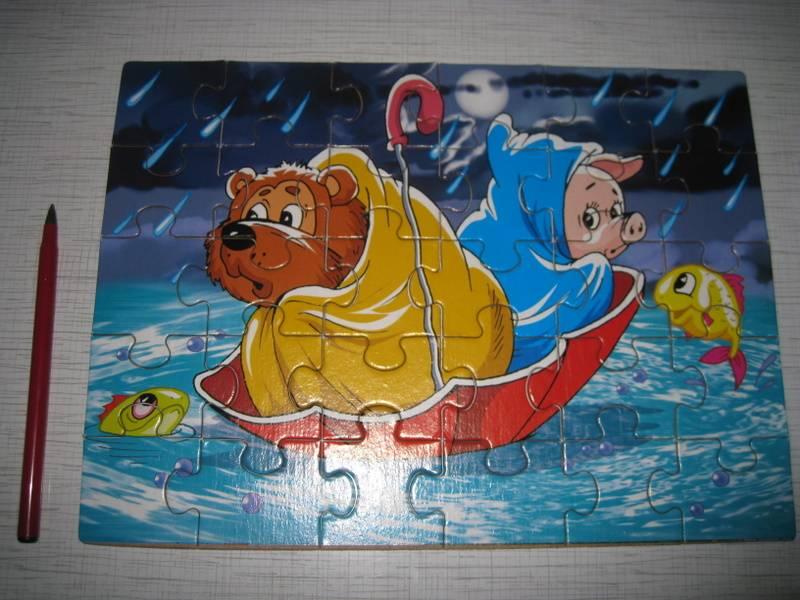 Иллюстрация 1 из 2 для Пазл-30 макси. Винни Пух и Пятачок (00202) | Лабиринт - игрушки. Источник: Алевита