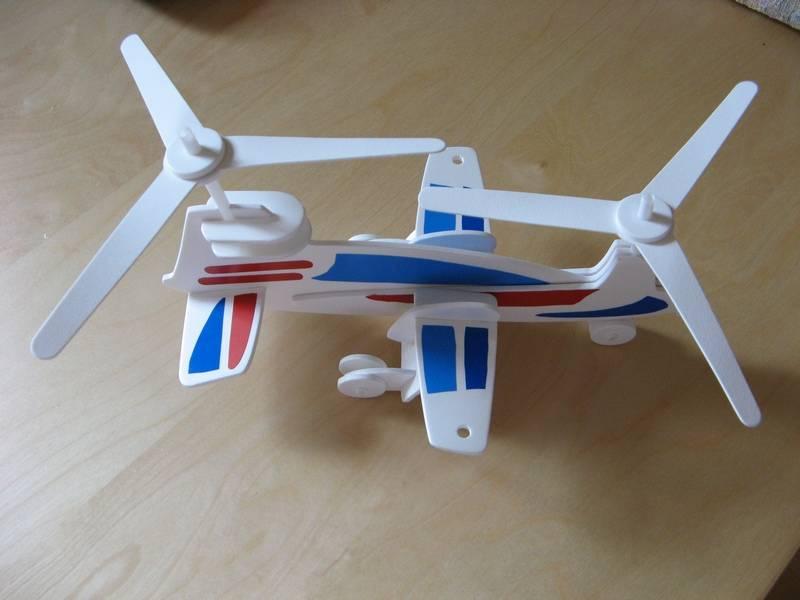 Вертолетик из картона своими руками 44