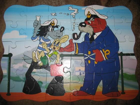 """Иллюстрация 1 из 2 для Puzzle-30  MIDI. """"Ну, погоди!"""" (В-03049)   Лабиринт - игрушки. Источник: LI$A"""