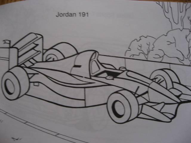 Иллюстрация 1 из 8 для Раскраска: Гоночные автомобили | Лабиринт - книги. Источник: svemikh