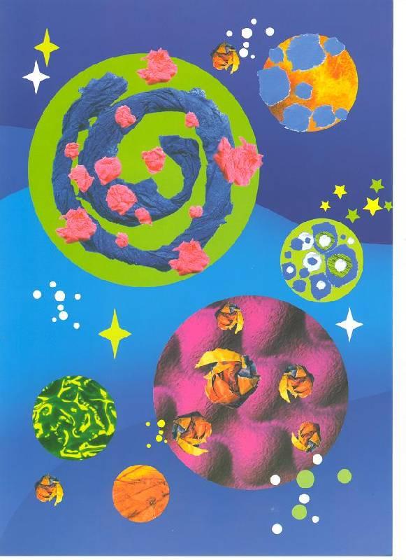 Иллюстрация 1 из 18 для Далекий космос (аппликация) - Ирина Лыкова | Лабиринт - книги. Источник: Яровая Ирина