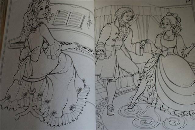 Иллюстрация 1 из 3 для Большая книга раскрасок для девочек | Лабиринт - книги. Источник: Сергеева  Юлия