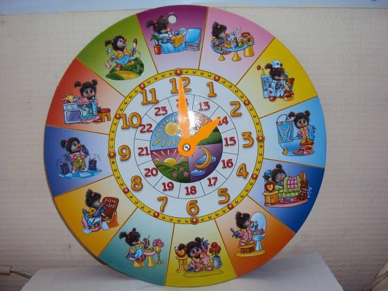 Как сделать часы для детей