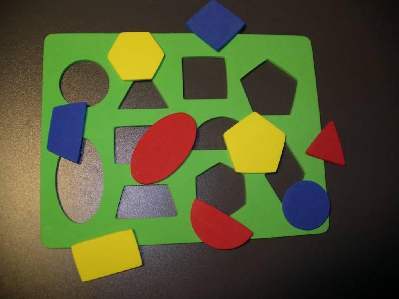Иллюстрация 1 из 3 для Мозаика. Рамка - геометрические фигуры (043021) | Лабиринт - игрушки. Источник: Мариста