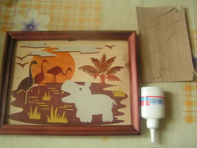 Иллюстрация 1 из 2 для Маркетри-панно Африка (Мрк-002) | Лабиринт - игрушки. Источник: ИринаИ