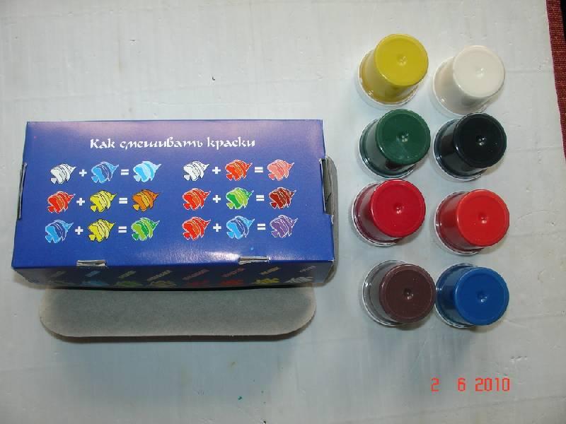 Как сделать цвета из красок гуашь