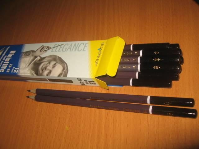 Иллюстрация 1 из 12 для Набор карандашей чернографитных (12 штук, 2Н-2В) (121219-00) | Лабиринт - канцтовы. Источник: Алена