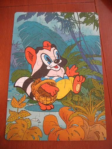 Иллюстрация 1 из 7 для Step Puzzle-104 82006 Крошка Енот | Лабиринт - игрушки. Источник: М-и-л-е-н-а