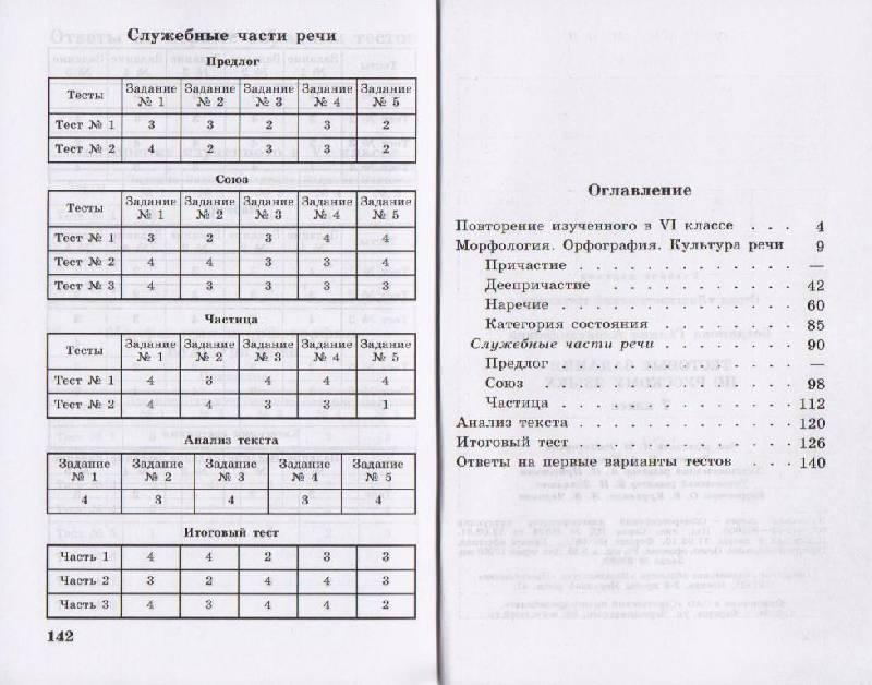 Тестовые Задания 6 Класс