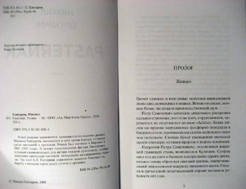 Иллюстрация 1 из 3 для Pasternak - Михаил Елизаров | Лабиринт - книги. Источник: Galoria