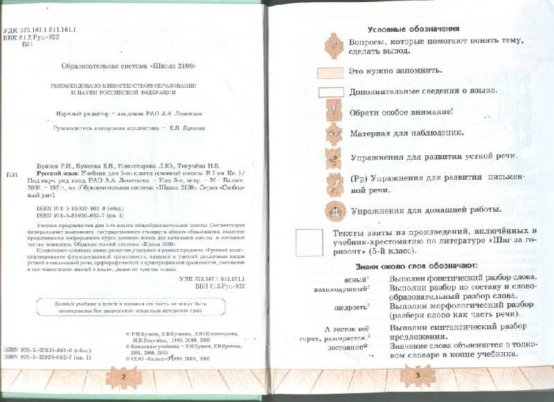 Решебник За 4 Класс По Русскому Языку Школа 2100
