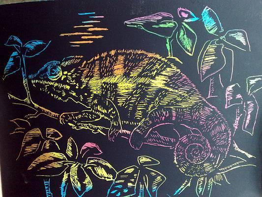 Иллюстрация 1 из 3 для Хамелеон (Гр-088)   Лабиринт - игрушки. Источник: bagirchik