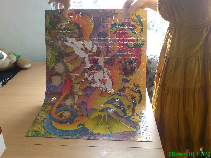"""Иллюстрация 1 из 2 для Step Puzzle-1000 """"Былина. Добрыня Никитич и Змей Горыныч"""" (79066)   Лабиринт - игрушки. Источник: RockBaby"""