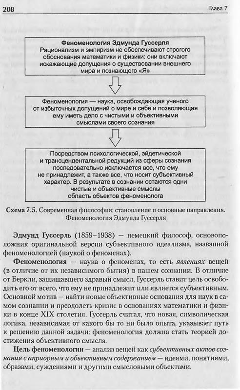 """Иллюстрация 19 к книге  """"История философии в схемах и комментариях """", фотография, изображение, картинка."""