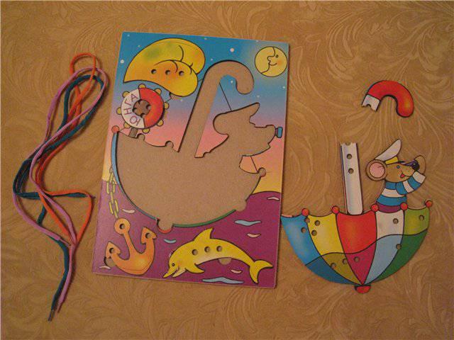 Иллюстрация 1 из 2 для Морячок-шнуровка (Ш-051) | Лабиринт - игрушки. Источник: Фея Нежности