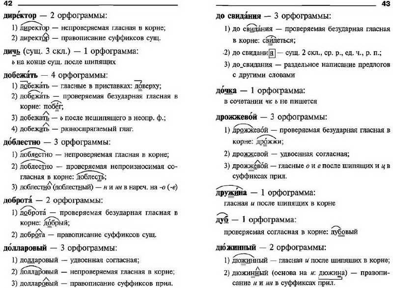 Как сделать слово для орфографического разбора