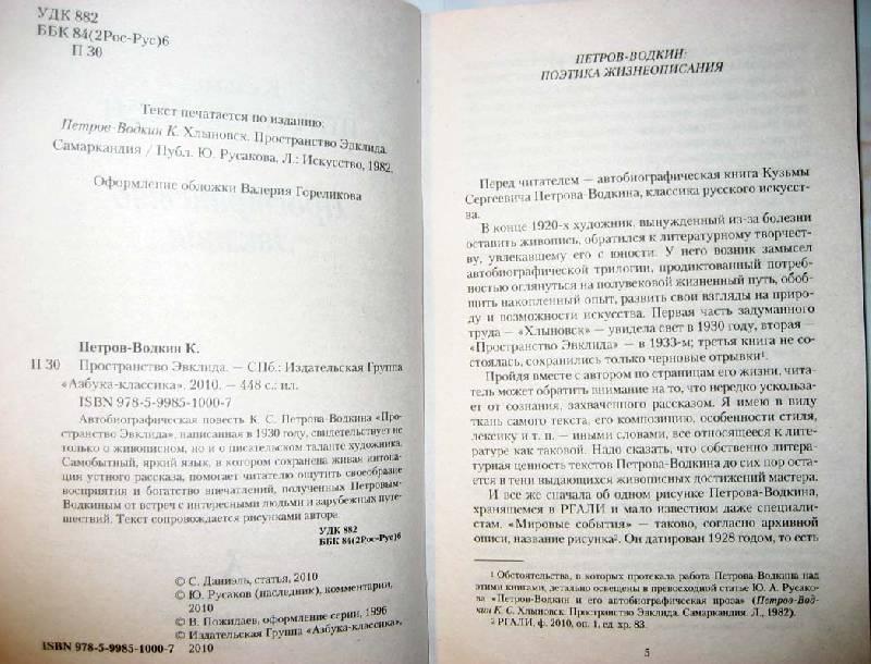 Иллюстрация 1 из 12 для Пространство Эвклида - Кузьма Петров-Водкин   Лабиринт - книги. Источник: Galoria