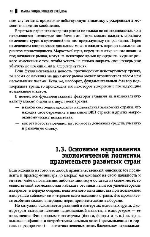 Малая энциклопедия трейдера скачать