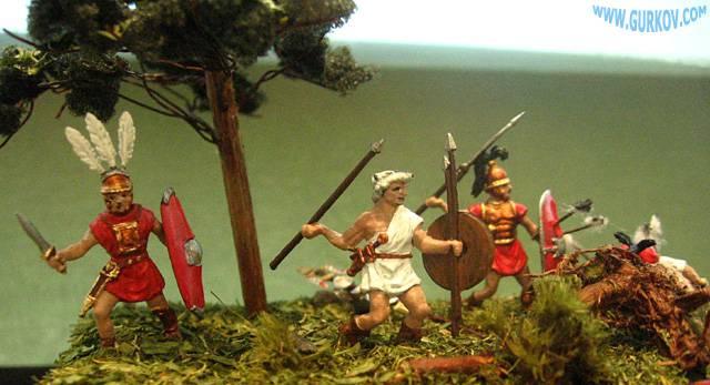 Иллюстрация 1 из 7 для 8034/Республиканский Рим. Пехота | Лабиринт - игрушки. Источник: Гурков Алексей Владимирович