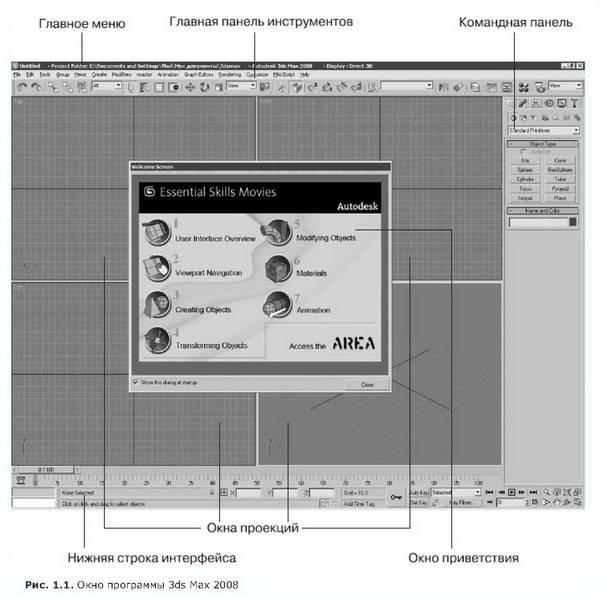 Иллюстрация 1 из 8 для Видеосамоучитель. 3ds Max 2008 (+DVD) - Владимир Верстак | Лабиринт - книги. Источник: Ялина