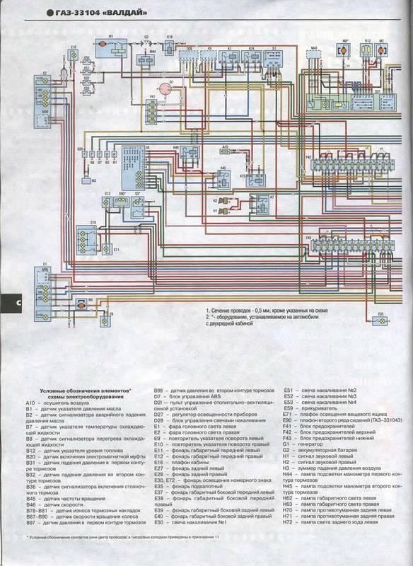 Руководство по ремонту, техническому обслуживанию и эксплуатации автомобиля ГАЗ 33104 Валдай с дизельным двигателем...