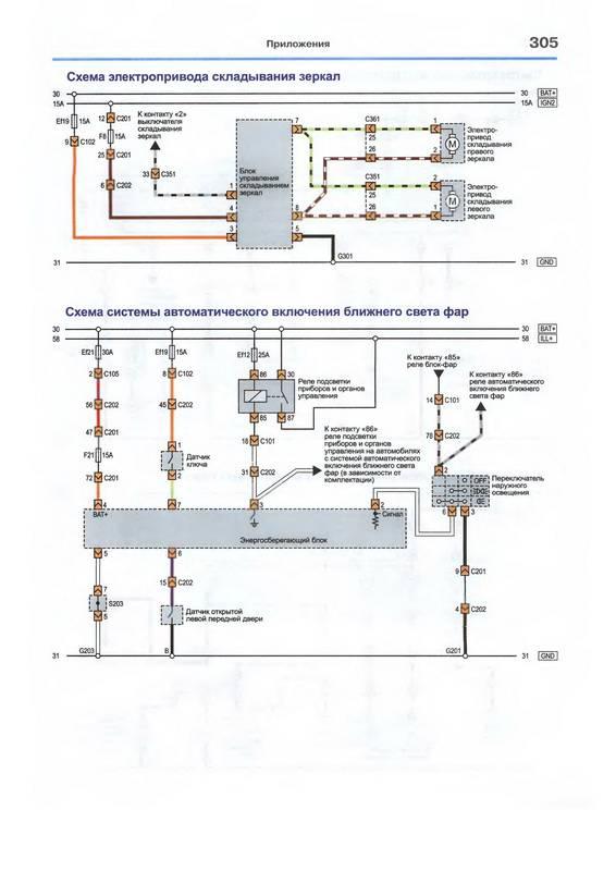 Схема энергосберегающего блока.