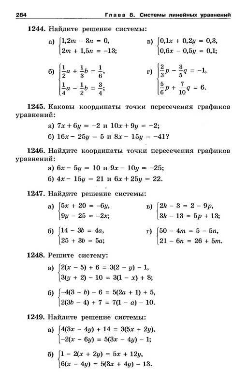 Макарычев 8 Класс ГДЗ 2010 скачать