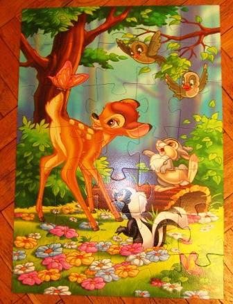 Иллюстрация 1 из 7 для Step Puzzle-35 MAXI 91203 Бемби | Лабиринт - игрушки. Источник: Хармич  Yaness
