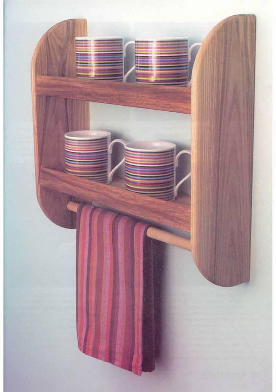 Полочки в кухне своими руками
