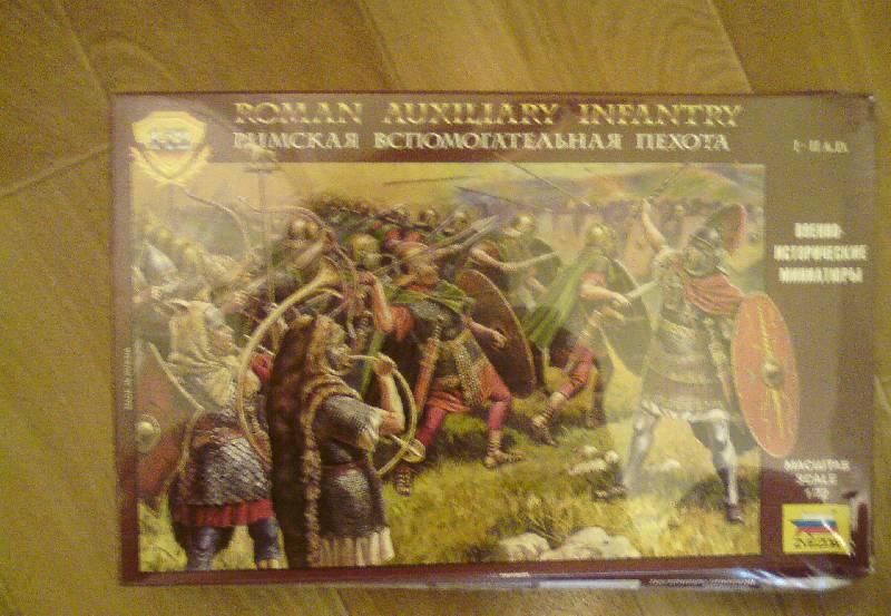 Иллюстрация 1 из 3 для Римская вспомогательная пехота (8052) | Лабиринт - игрушки. Источник: LilyWhite