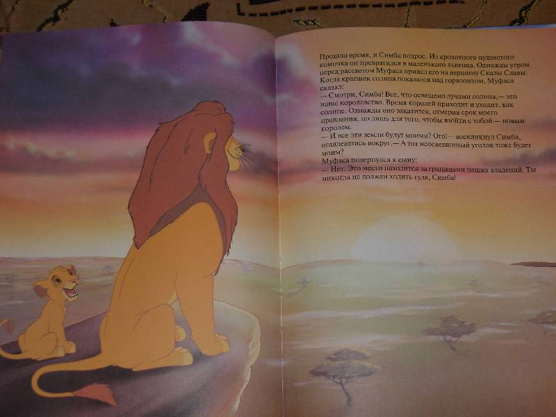 Иллюстрация 1 из 6 для Король Лев | Лабиринт - книги. Источник: ---Ирина----