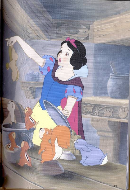 Иллюстрация 1 из 8 для Белоснежка и семь гномов | Лабиринт - книги. Источник: *  Татьяна *