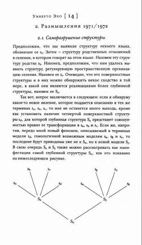 Иллюстрация 1 из 13 для Отсутствующая структура: Введение в семиологию - Умберто Эко | Лабиринт - книги. Источник: Ялина