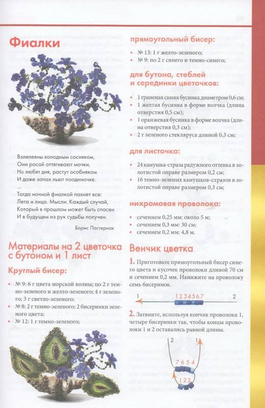 Бульба Н., Георгиев А. - Фигурки, цветы и миниатюры из бисера 2010, PDF, RUS.