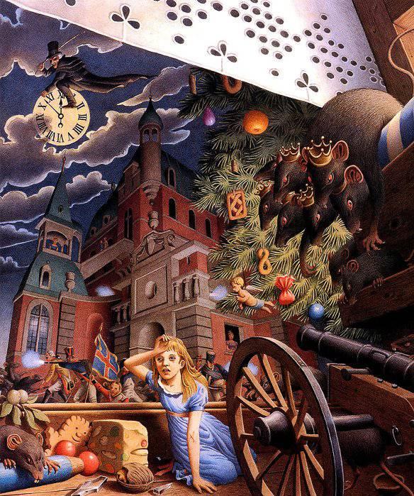Иллюстрация 8 из 37 для Щелкунчик - Гофман Эрнст Теодор Амадей ...