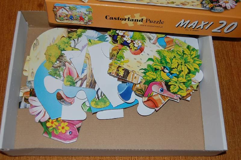 """Иллюстрация 1 из 5 для Puzzle-20 MAXI """"Три поросенка-2"""" (С-02061)   Лабиринт - игрушки. Источник: ИринаИ"""