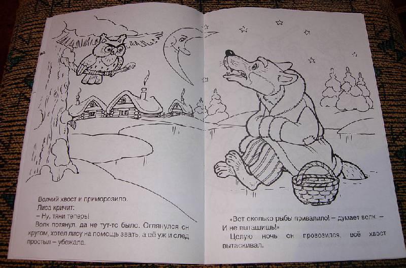 Четвертая иллюстрация к книге лисичка