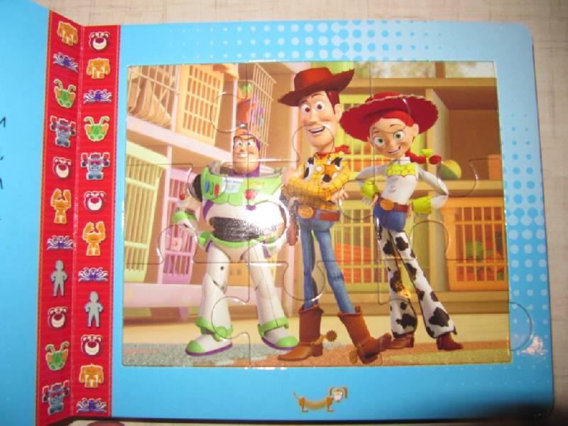 Иллюстрация 1 из 11 для История игрушек. Большой побег. Книжка-мозаика | Лабиринт - книги. Источник: Мурка
