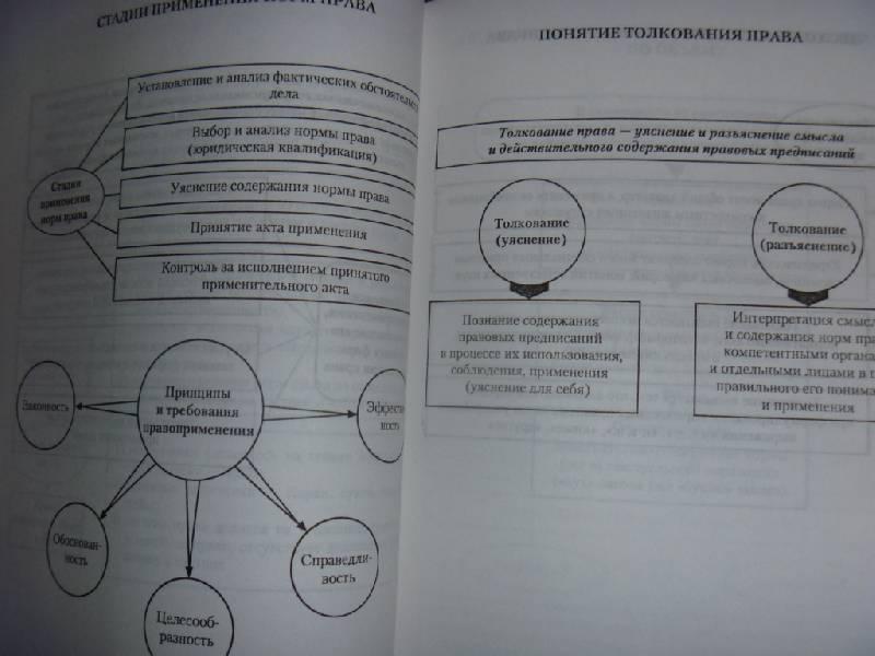 """Иллюстрация 9 к книге  """"Теория государства и права в схемах и определениях. """", фотография, изображение, картинка."""