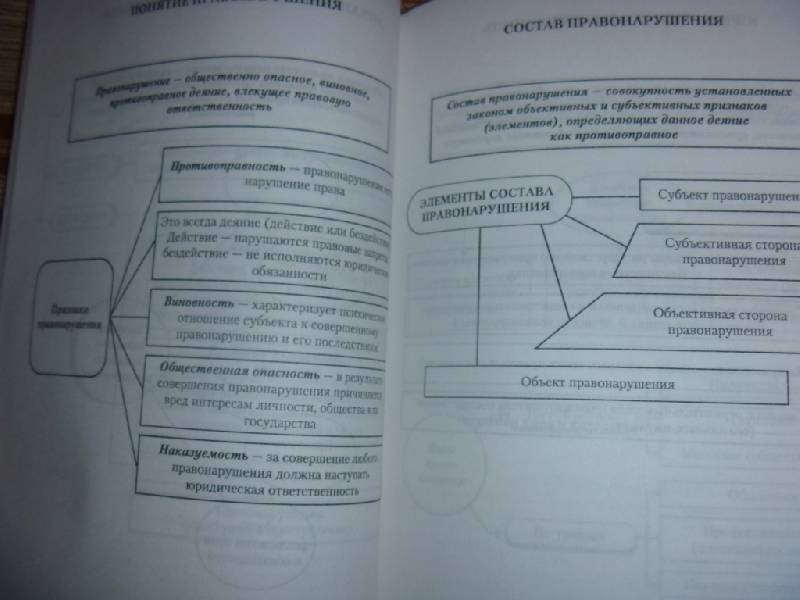 Главная = Схемы = Юриспруденция = Теория права и государства.  Альбом схем и определений.  Учебное наглядное пособие.